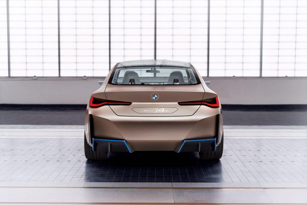 BMW concept i4 - zadok