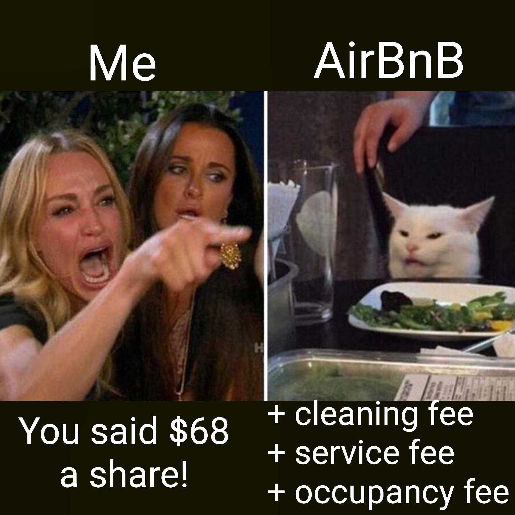 Meme ABNB IPO 68$ per share
